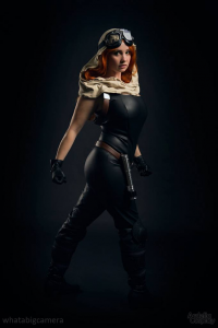 Ardella Cosplay as Mara Jade Skywalker