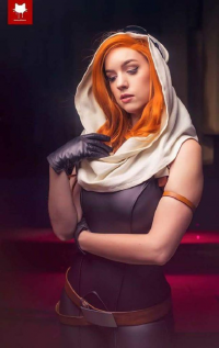Major Sam Cosplay as Mara Jade Skywalker