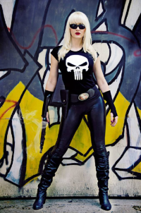 Dayna Baby Lou as Punisher