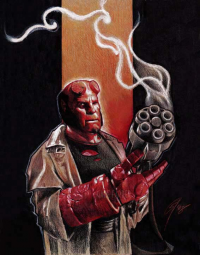 Hellboy from Gabefarber