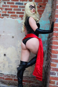 AloisTrampy as Ms. Marvel