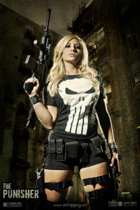 Alyssa as Punisher