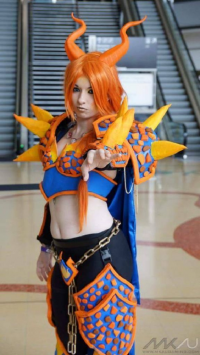 Double Helix Cosplay as Charizard