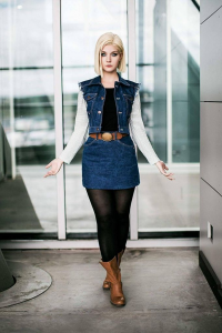 Lie-chee as Android 18