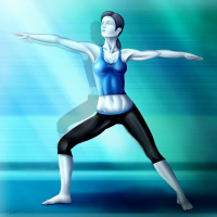 Wii Fit Trainer from Rux--xan