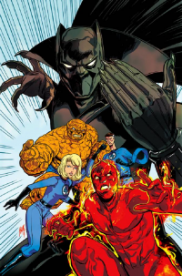 Reed Richards, Johnny Storm, Sue Storm, The Thing from Felipe Smith