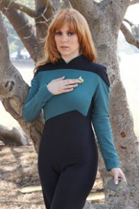 Michi Cosplayer as Beverly Crusher