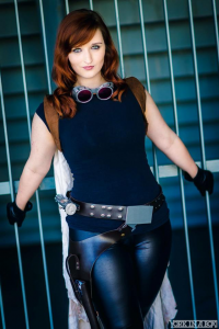 Alexandria the Red as Mara Jade Skywalker