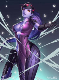 Widowmaker from -yus-