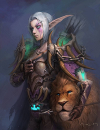 Nightelf/Hunter from byebye
