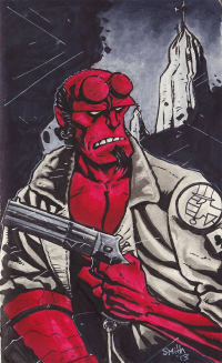 Hellboy from Alex Smith