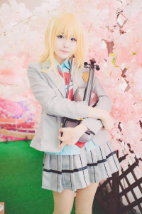 Unknown Female Artist as Kaori Miyazono
