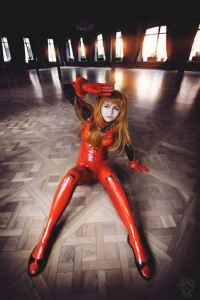 Unknown Female Artist as Asuka Langley Soryu