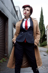 Costumes by Courtney as 10th Doctor