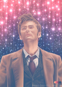 10th Doctor from Android-sheep