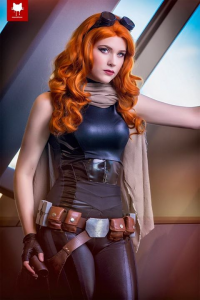 Eve Beauregard as Mara Jade Skywalker
