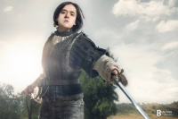 Dashy Props as Arya Stark