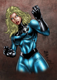 Sue Storm from Digital Colorist