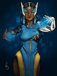 Symmetra from King Unreal