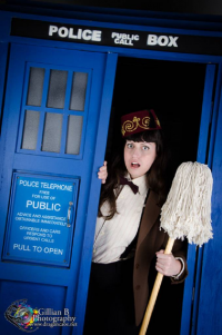 Duchess Silk as 11th Doctor