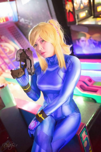 Cyrii as Samus Aran