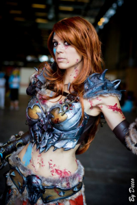 Illyne Cosplay as Barbarian
