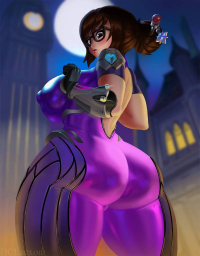 Mei/Widowmaker from Andrew Sparrow