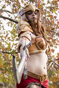 Aurin Cosplayer as Leona