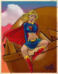Supergirl from Alex Smith