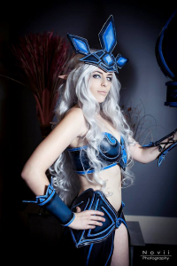 Element cosplay as Janna