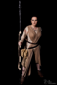 Commander Cait Cosplay as Rey