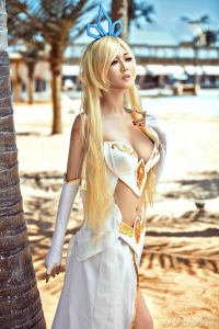 Unknown Female Artist as Janna