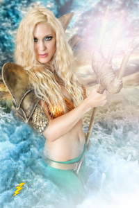 Kristen Hughey as Aquaman
