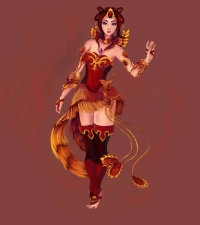 Lina from lunarescence