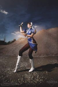 Unknown Female Artist as Chun Li