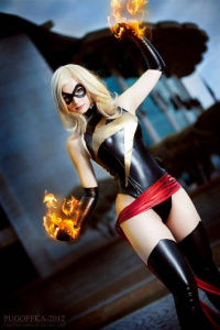 Enji Night as Ms. Marvel