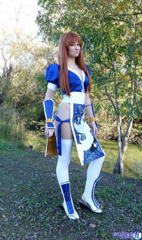 Emma Skies Cosplay as Kasumi