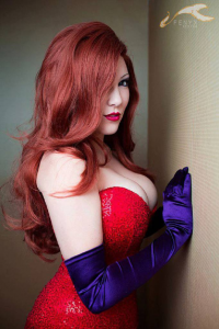 Betsy Bon Bon as Jessica Rabbit