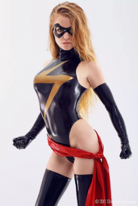 Alexx as Ms. Marvel