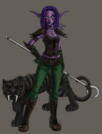 Nightelf/Hunter from areve