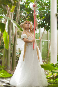 Lady Malice Cosplay as Princess Serenity