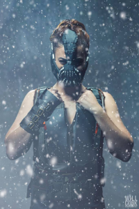 SamCam Cosplay as Bane
