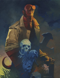 Hellboy from Chris Stevens
