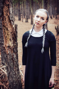 Unknown Female Artist as Wednesday Addams