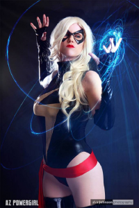 Az Powergirl as Ms. Marvel