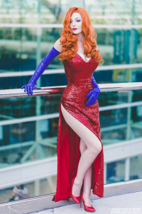 Ashleynne Dae as Jessica Rabbit