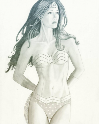 Wonder Woman from Adam Tupper