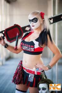 Jerry Neeko as Harley Quinn/Juliet Starling