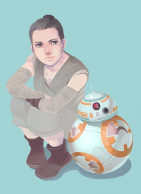 Rey, BB-8 from Ai-eye )