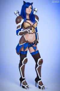 Jessica Nigri as Blastoise